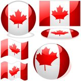 Kanada-Set Lizenzfreie Stockbilder