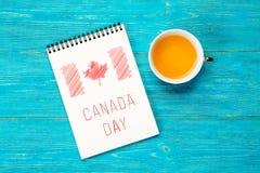 Kanada självständighetsdagen royaltyfri illustrationer