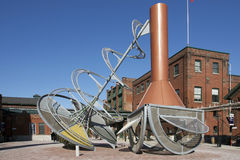 Kanada spritfabrikområde toronto Royaltyfri Fotografi