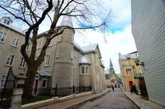 Kanada stad quebec Arkivfoto
