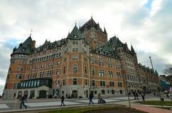 Kanada stad quebec Arkivfoton