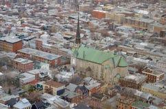 Kanada stad quebec Arkivbilder