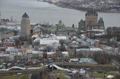 Kanada stad quebec Fotografering för Bildbyråer