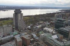 Kanada stad quebec Royaltyfri Foto