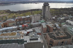 Kanada stad quebec Royaltyfria Foton