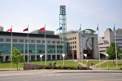 Kanada stadshus ottawa Arkivfoton