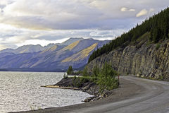 Kanada territorium yukon Royaltyfria Foton