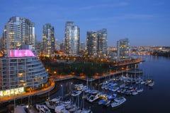 Kanada vancouver Royaltyfri Fotografi