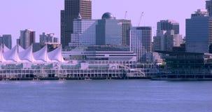 Kanada Vancouver, hamnstad, Nordamerika trans.nav arkivfilmer