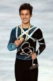 Kanadas Abbildung Schlittschuhläufer Patric Stockfotografie