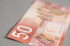 Kanadensare 50 dollar Royaltyfri Bild