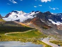 Kanadensare Rocky Mountain Park, Alberta Arkivbild