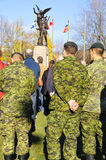Kanadensaresoldater Arkivfoton