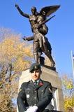 Kanadensaresoldater Fotografering för Bildbyråer