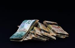 kanadensisk dollar royaltyfria foton
