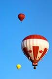 kanadensisk flaggastil för ballong Royaltyfri Bild