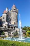 Kanadensisk gränsmärke: Slott i Toronto Arkivbild