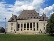 Kanadensisk högsta domstolen, Ottawa, Ontario Arkivfoton