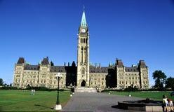 kanadensisk husparlament royaltyfri fotografi