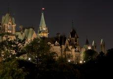 kanadensisk parlament royaltyfri bild