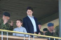 Kanadensisk premiärminister Justin Trudeau royaltyfria foton