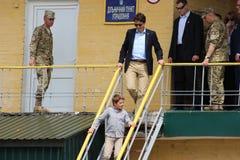 Kanadensisk premiärminister Justin Trudeau royaltyfria bilder