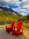 Kanadensisk semester för steniga berg Royaltyfria Bilder