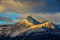 Kanadensiska berg för steniga berg, Alberta, Kanada Royaltyfri Foto