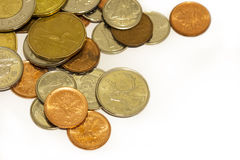 Kanadensiska mynt Arkivfoto