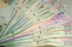 kanadensiska pengar Fotografering för Bildbyråer
