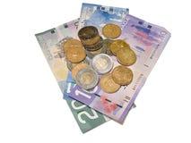 kanadensiska pengar Arkivbilder