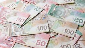 Kanadensiska pengar Royaltyfri Bild