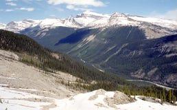 kanadensiska rockies Arkivfoton
