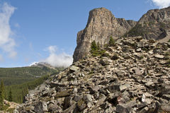 kanadensiska rockies royaltyfri bild