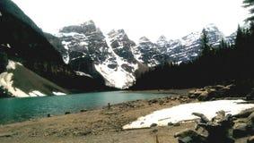 kanadensiska rockies Arkivbild