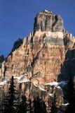 kanadensiska rockies Arkivfoto