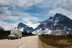 Kanadensiska Rockies, Alberta Arkivfoto