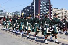 Kanadensiska soldater Royaltyfri Bild