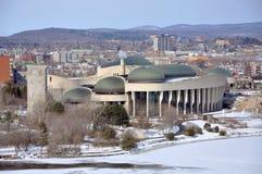 kanadensiskt civilisationgatineaumuseum quebec Royaltyfri Fotografi