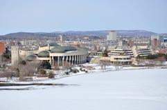 kanadensiskt civilisationgatineaumuseum quebec Arkivbild