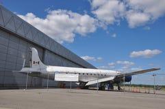 Kanadensiskt flyg- och avståndsmuseum Arkivfoto