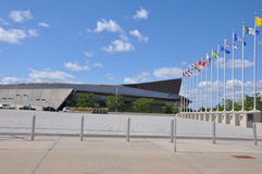 Kanadensiskt krigmuseum i Ottawa Royaltyfria Foton