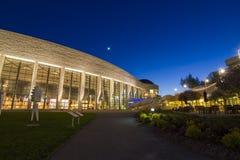 Kanadensiskt museum av civilisation - blå timme Royaltyfria Foton