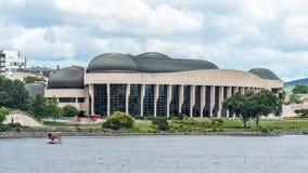 Kanadensiskt museum av historia arkivbild