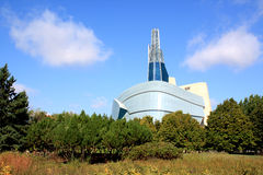 Kanadensiskt museum för mänskliga rättigheter Royaltyfri Bild