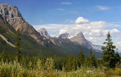 Kanadensiskt stenigt berg Arkivbilder