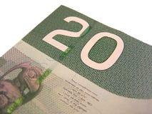 Kanadier 20 Stockfoto