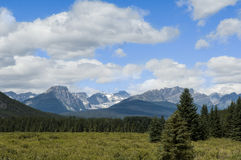 Kanadier Rocky Mountains Lizenzfreie Stockbilder