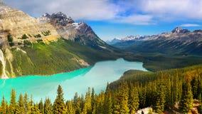 Kanadier Rocky Mountains und Seen lizenzfreie stockfotografie