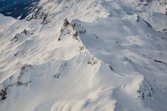Kanadische Berge Stockbild